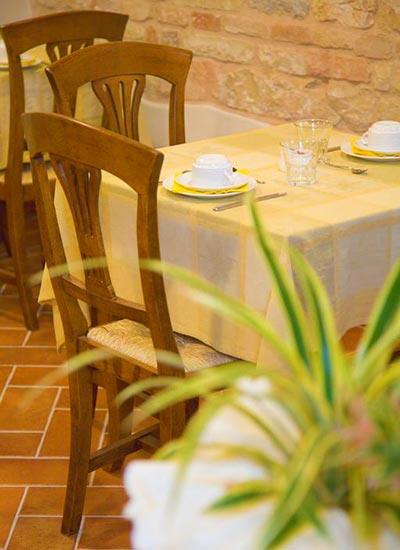 bed & breakfast sirolo